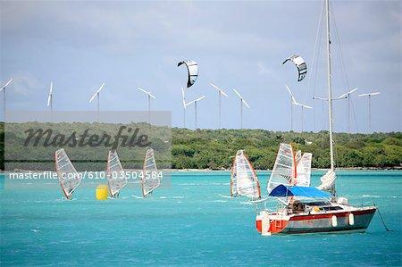 French West Indies, Guadeloupe, Saint Francois, regatta