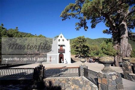 Spain, Canary islands, La Palma, El Paso, Ermita de la Virgen del Pino