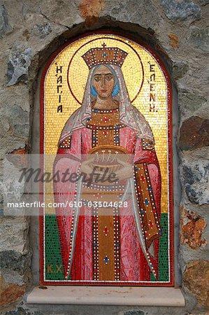 Cyprus, Larnaca, Stavrovouni monastery, icon