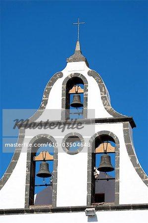 Espagne, Iles Canaries, La Palma, Tazacorte, église