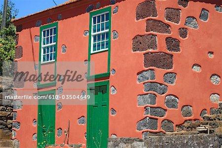 Spain, Canary islands, La Palma, Tiajarafe, traditional house