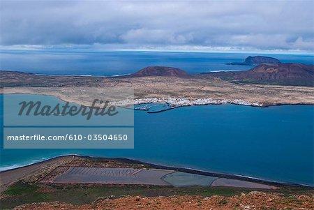 Spain, Canary islands, Lanzarote and Graciosa