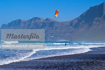 Spanien, Kanarische Inseln, Lanzarote, Caleta de Famara