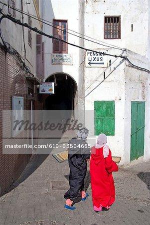 Médina de Tanger, Maroc,