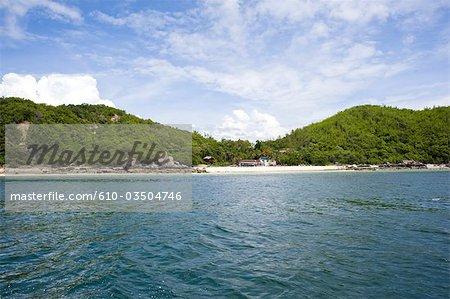 Thaïlande, Koh Larn de la mer
