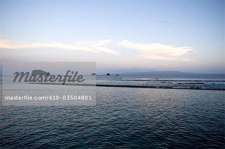 Station balnéaire de Bali, Candidasa, Indonésie
