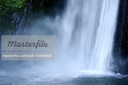 Indonesia, Bali, waterfall