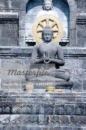 Indonesia, Bali, near Lovina, monastery of Brahma Asram Vihara