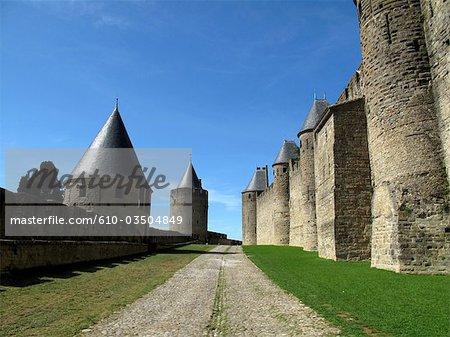 France, Languedoc, Carcassonne, la forteresse