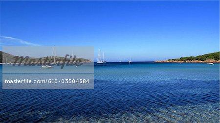 France, Corse, baie de Rondinara