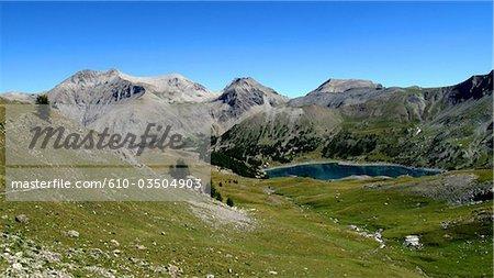 France, Provence, lac d'Allos