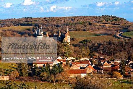 France, Burgundy, La Rochepot