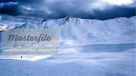 France, Provence, La Condamine-Chatelard, Saint Anne ski resort