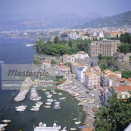 Sorrento, Costiera Amalfitana (côte amalfitaine), UNESCO World Heritage Site, Campanie, Italie, Europe