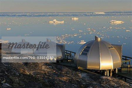 Hotel Arctic Ilulissat, Ilulissat, Qaasuitsup, Disko-Bucht, Ilulissat Icefjord, Grönland