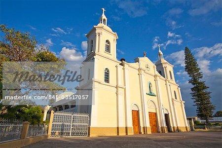 L'Amérique centrale de la cathédrale, le parc Central, Esteli, Nicaragua,
