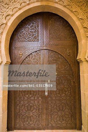 Ancient door, Old City, UNESCO World Heritage Site, Essaouira, Morocco, North Africa, Africa
