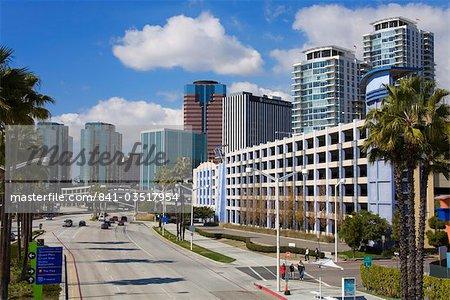 Shoreline Drive, Long Beach, Los Angeles, California, United States of America, North America