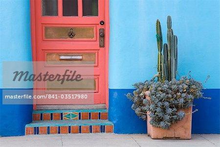 Haus Planausschnitt El Presidio Historic District, Tucson, Arizona, Vereinigte Staaten von Amerika, Nordamerika
