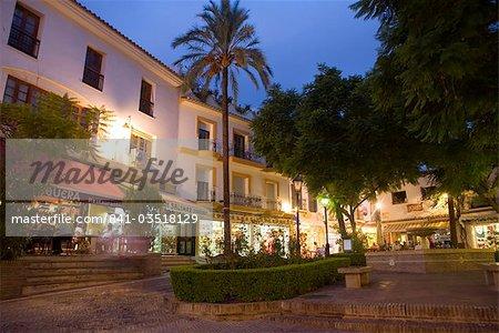 Vieille ville, Marbella, Malaga, Andalousie, Espagne, Europe