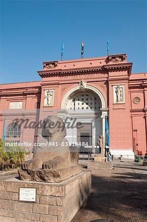 Le Musée égyptien, le Caire, en Égypte, en Afrique du Nord, Afrique