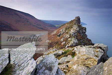 Valley of Rocks, Exmoor National Park, Devon, England, United Kingdom, Europe
