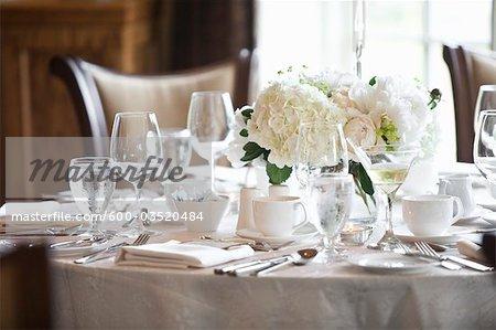 Cadre de table pour mariage