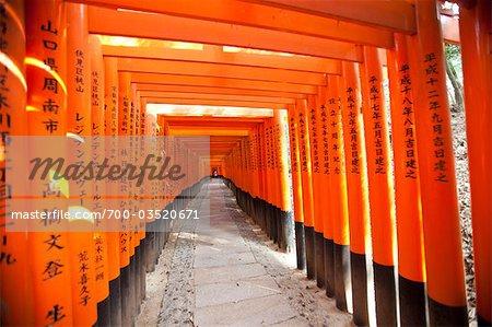 Fushimi Inari Taisha, Fushimi-ku, Kyoto, préfecture de Kyōto, région du Kansai, Honshu, Japon