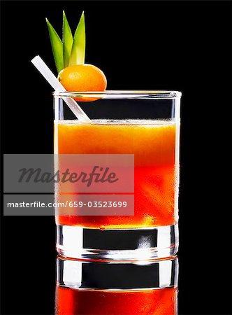 Un cocktail d'orange
