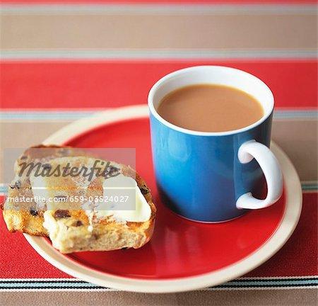 Thomas grillées avec du thé (UK)