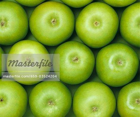 Grünen Äpfeln, Vollformat-