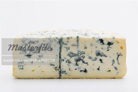 Un morceau de fromage bleu