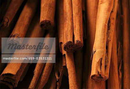Bâtons de cannelle (gros plan)