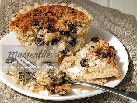 Yorkshire curd tart (England)