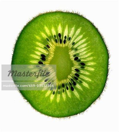 Scheibe Kiwi Frucht, Hintergrundbeleuchtung