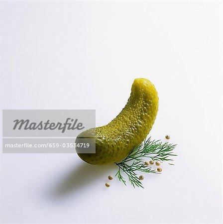 A pickled gherkin