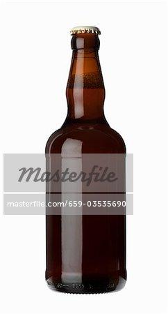 Eine Flasche Bier (Ale)