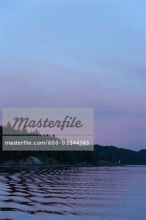 Ganges Harbour, Long Harbour, Salt Spring Island, Gulf Islands, Colombie-Britannique, Canada