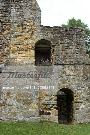 Ruines de Battle Abbey, bataille, Sussex, Angleterre