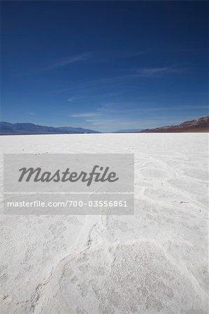 Salt Flats, Death Valley, California, USA