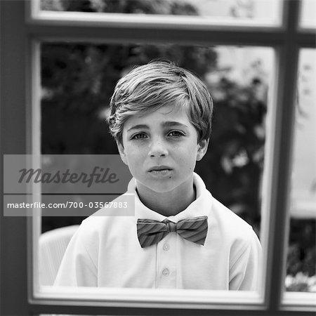 Portrait du petit garçon, Newport Beach, Orange County, Californie, Etats-Unis