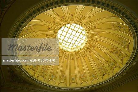 Vue de l'intérieur du dôme de la Virginia State Capitol Virginia, Richmond, États-Unis d'Amérique,