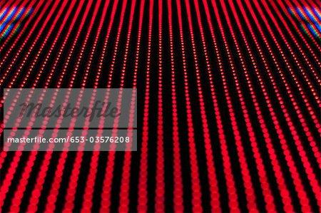 Motif de points rouges, plein cadre