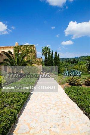 Maison extérieur, Majorque, Espagne