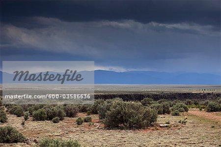 Rio Grande Gorge, Taos, Nouveau-Mexique, États-Unis