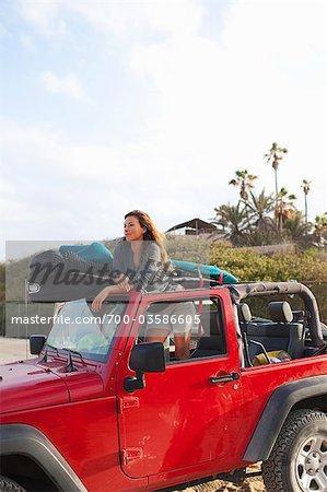 Frau, Baja California Sur, Mexiko