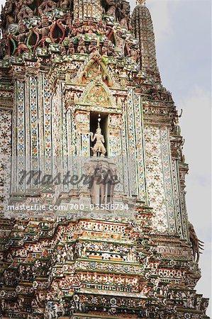 Bouddha phar Prang au Wat Arun Temple, Thon Buri, Bangkok, Thaïlande