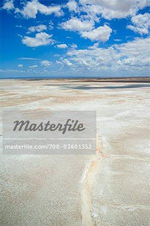 Salt Flat, Lake Turkana, Kenya, Africa