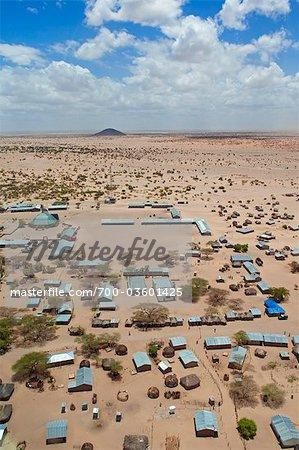 Loyangalani Village, Lake Turkana, Kenya, Africa