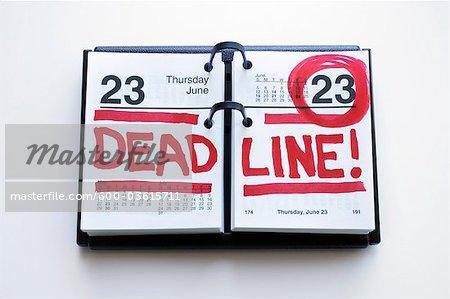 Calendar with Deadline